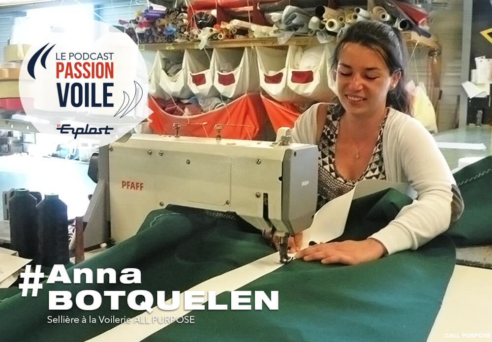 Passion Voile Podcast, Anne Botquelen