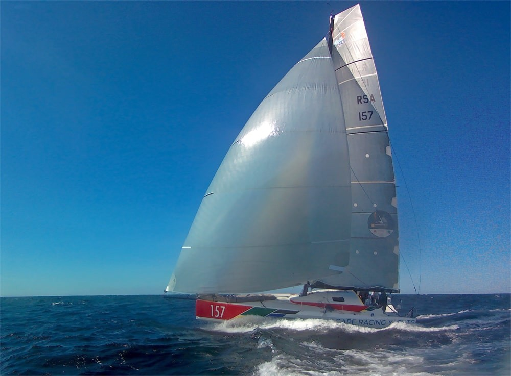 Jörg Riechers Class 40 Imagine Cape Racing Yacht