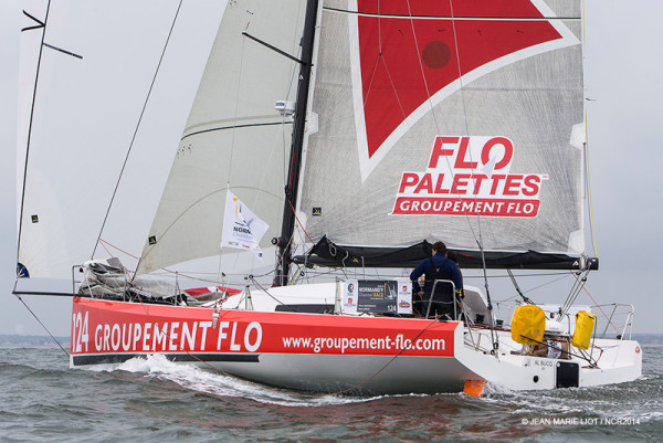 Groupement Flo second de la Normandy Channel Race ©Jean-Marie Liot