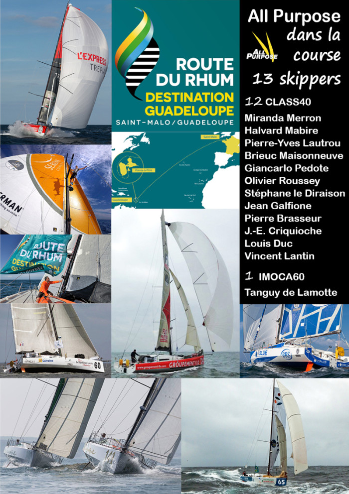 All Purpose dans la Route du Rhum 2014 ©