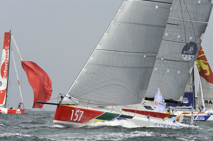 Jörg Riechers Class 40 Imagine Cape Racing Yacht ©Patrick Deroualle