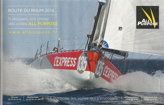 All Purpose Route du Rhum 2014